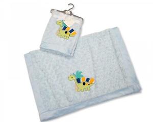 Newborn Baby Girl Soft Warm Fleece Blanket Wrap Bed Cot Pram Moses Basket Pink