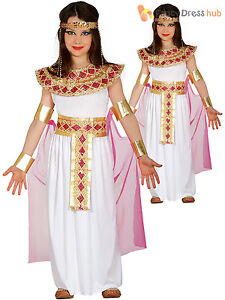 Girls deluxe egyptian costume childs cleopatra fancy dress kids image is loading girls deluxe egyptian costume childs cleopatra fancy dress solutioingenieria Image collections
