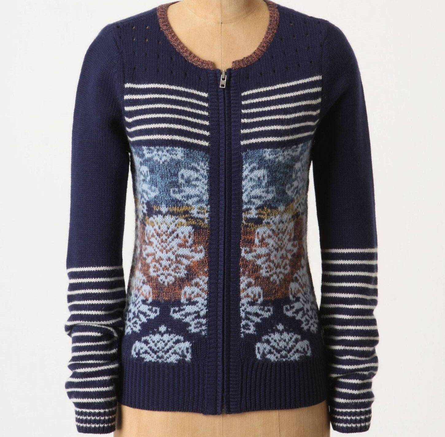 Sparrow Arras Cardigan Sweater Top Size XS, S, M, L bluee NW ANTHROPOLOGIE Tag