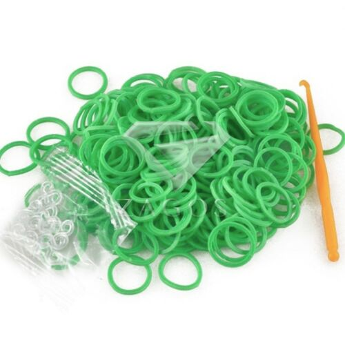 Bracelet DIY 185-200pcs Refill Loom Rubber Bands With S Clips Loom Tool JA LM