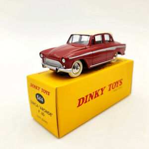 DeAgostini-Dinky-toys-544-Simca-Aronde-P60-Red-1-43-Diecast-Models-Collection