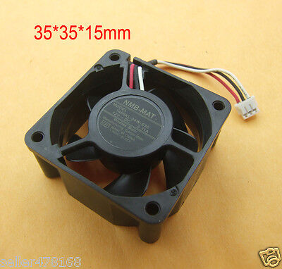 1PC 3-pin 12V 0.11A FANS 35x35x15mm fans Brushless Blower for Laptop cooling fan
