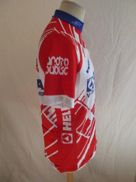 Maglia da ciclismo vintage HELITA Tour de France 2000 2000 2000 Rosso Taglia M 6dc22d