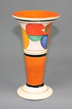 CLARICE CLIFF METROPOLITAN MUSEUM OF ART VASE MOMA BIZARRE MELON REPRO IN1993