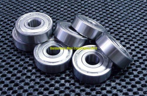 10Pcs 12x28x7 mm 16001ZZ Metal Shielded Ball Bearing Bearings 12*28*7 16001z