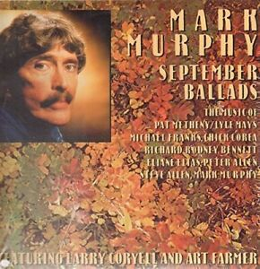Mark-Murphy-September-Ballads-New-Vinyl-LP