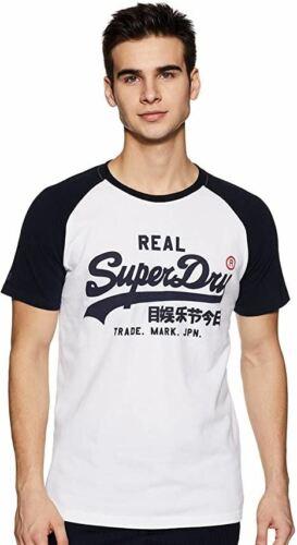 SuperDry Mens Summer Tee Casual Pullover Gym Running Smart T Shirt
