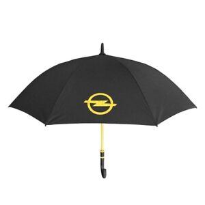 Opel-Regenschirm-Stockschirm-schwarz-gelb-10746