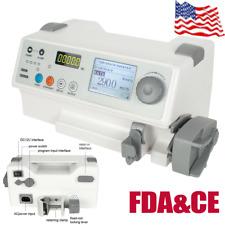 Sp 50b Veterinary Syringe Infusion Pump Ivampfluid Equipment Alarm Ampaudible Fda