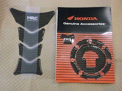 Protector Genuine Honda HRC Carbon Effect Fuel Tank Pad New 08P61-KAZ-800B