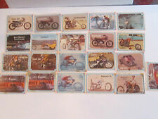 1970'S LOT OF (21) STREET CHOPPER HOT BIKE TRADING CARDS - NICE - LOT 5 TUB CB