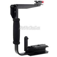 Pro Flip C Z bracket grip stand holder for Camera flash TTL cord DV DC DSLR New