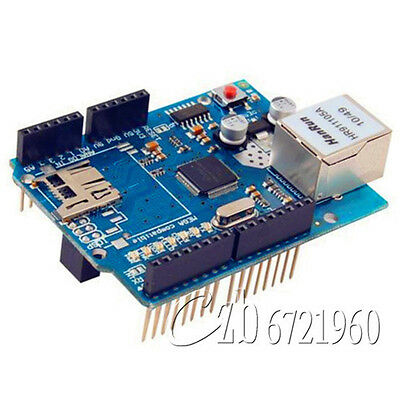 W5100 Ethernet Shield For Arduino Main Board UNO R3 ATMega 328 1280 MEGA2560