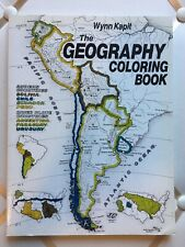 Geography Coloring Book by Wynn Kapit (1997, Paperback)