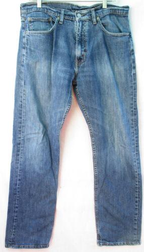 Levis 501 Jeans 34x32 Medium Wash Distressed Blue… - image 1