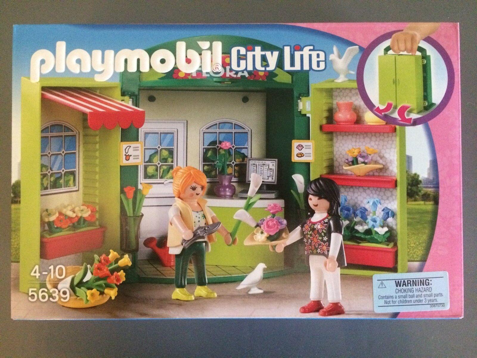 Playmobil 5639 Flower Shop Play Box