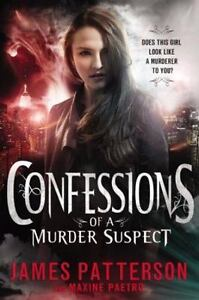 Confessions-of-a-Murder-Suspect-Hardcover-novel-by-James-Patterson-FREE-SHIPPING