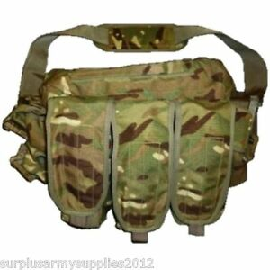 British army issued mtp grab bag ammunition pouch airsoft for Fishing tackle grab bag