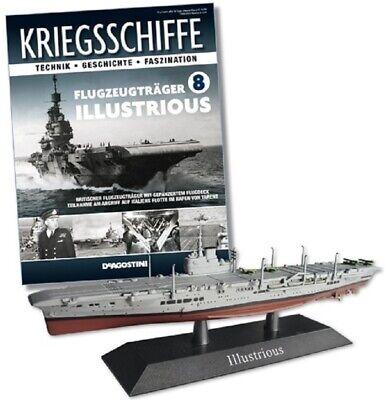 Battleship Model illustrious Battle Cruiser Warship 1:1250  Scale