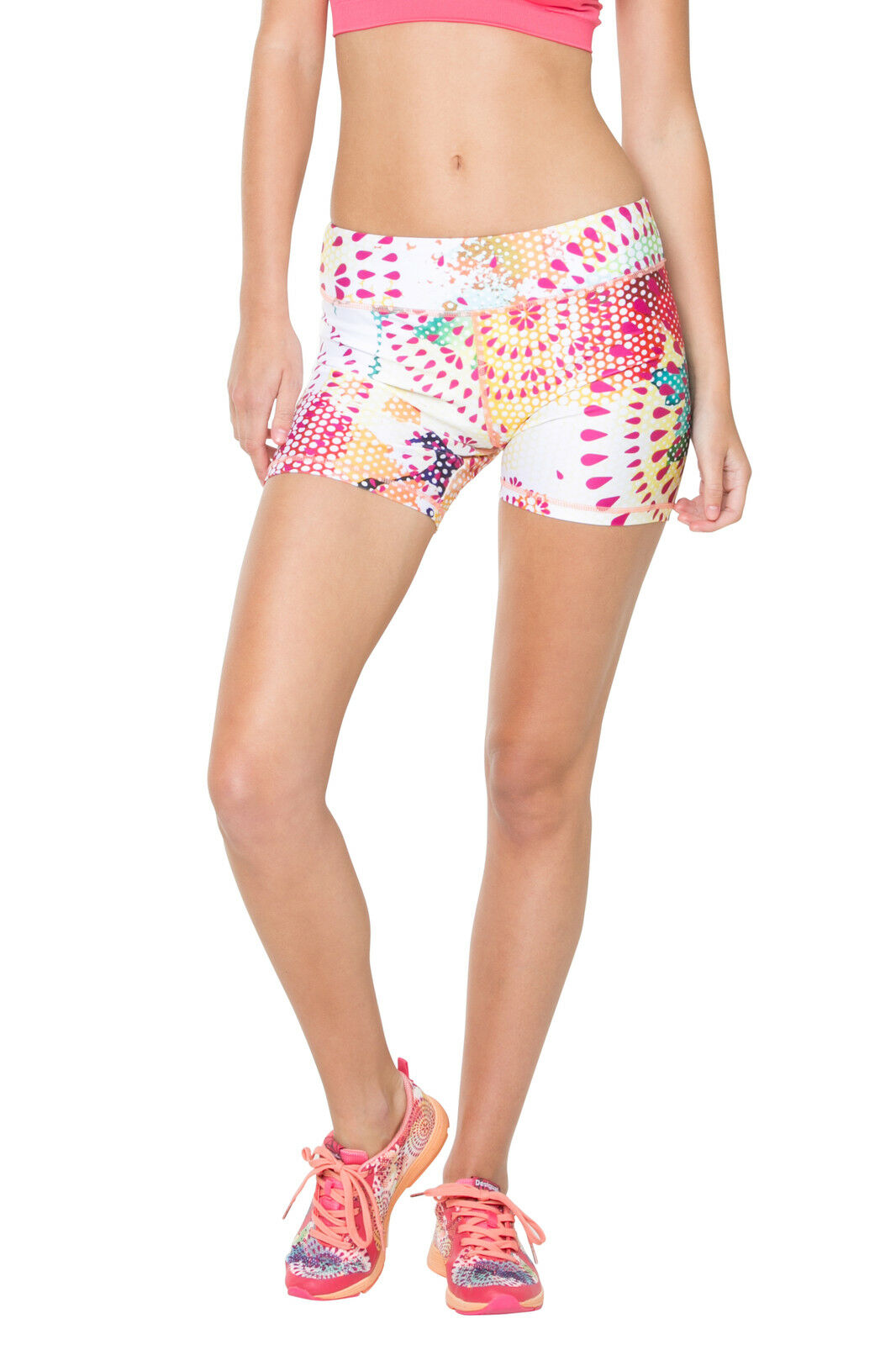 Desigual SPORT LEGGING CD SHORT TIGHT P
