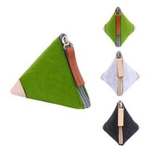 Fashion-Mini-Coin-Purse-Handmade-Wool-Triangle-Pouch-Bag-Unisex-Wallet