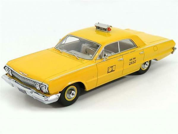 1 43 KESS MODEL Chevrolet Biscayne NYC Taxi New York 1963 KE43027012