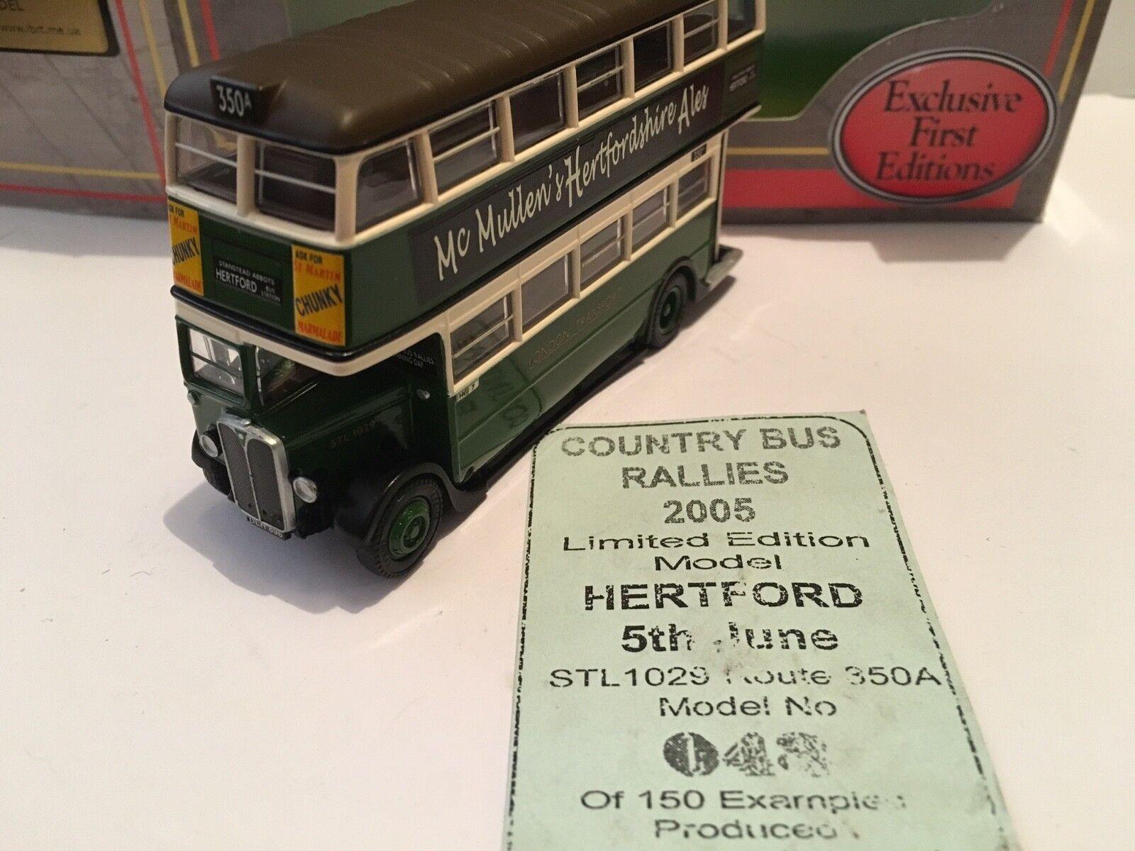 1 76 EFE HG05 – AEC STL - Hertford Country Bus Rally 2005