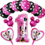 DISNEY-MICKEY-MINNIE-MOUSE-COMPLEANNO-PALLONCINI-BABY-SHOWER-SESSO-rivelare-Rosa-Blu miniatura 28