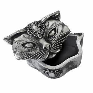 Alchemy-Gothic-Sacred-Cat-Ears-Shaped-Resin-Trinket-Jewellery-Storage-Box
