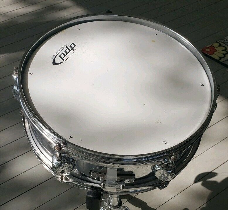 New PDP Pacific 13  Snare Drum Chrome