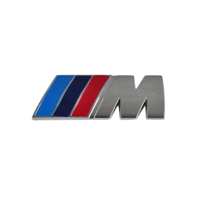 German M Power Metal Car Trunk Lid Sticker Badge Emblem Decal For