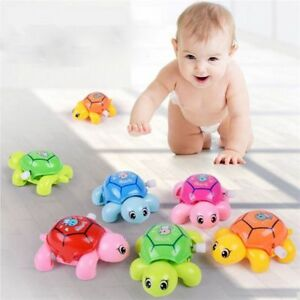 Infant-Small-Turtles-For-Baby-Kids-Crawling-Wind-Up-Toy-Educational-Toys