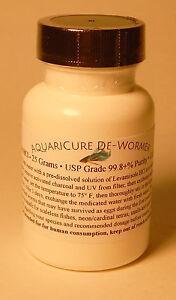 25-Grams-Pure-Levamisole-HCl-Powder-Fish-amp-Aquarium-De-Wormer-Parasite-Medicine