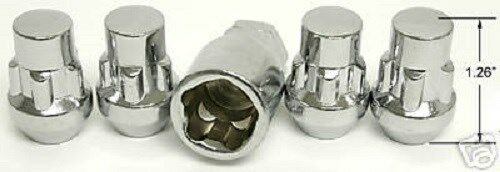 4 Pc EXPLORER LOCKING LUG NUTS CUSTOM WHEEL LOCKS # AP-20405