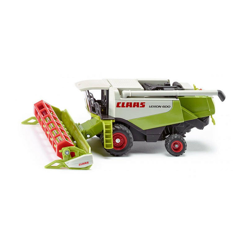 Siku 1991 Combine Harvester Claas Lexion 600 Green White Scale 1 50 Model Car