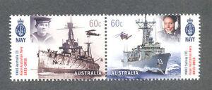 Australie-royal Australian Navy Set (2011) -3604/5 - Militaire-neuf Sans Charnière-l Australian Navy Set (2011)-3604/5-military-mnhfr-fr Afficher Le Titre D'origine