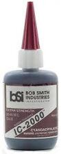 BSI IC-2000 black rubber Tough CA Cyanoacrylate Glue-Tire(gl7118)