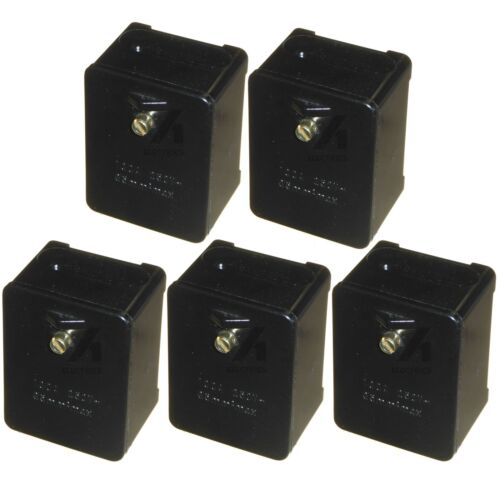 5 x 100 Amp Mains Connector Box Isco Each Connects up to 5 x 35mm Cables 240v