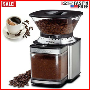 Automatic-Burr-Mill-Electric-Coffee-Grinder-Espresso-Bean-Home-Commercial-Grind