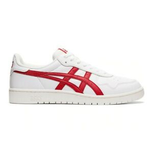 Asics-Tiger-Japan-S-Sneaker-Uomo-1191A212-100-White-Speed-Red