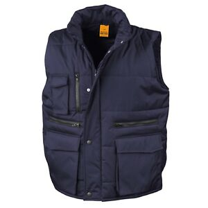 Result-NAVY-DARK-BLUE-Workguard-Padded-Gilet-Vest-Bodywarmer