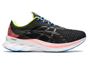 Asics-Men-039-s-NOVABLAST-Shoes-NEW-AUTHENTIC-Black-Graphite-Grey-1011A681-001-SZ-8