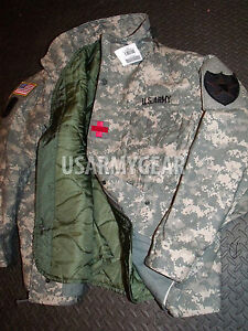 Made in USA New Acu Military M65 Field Coat Jacket M-65 Authentic ... 4c63b7e9f082