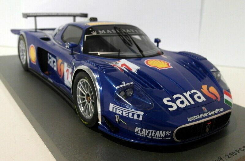2007 MASERATI MC12 voiture de course  11 FIA GT BBR 1 18 limité à 250 pièces rare P1807