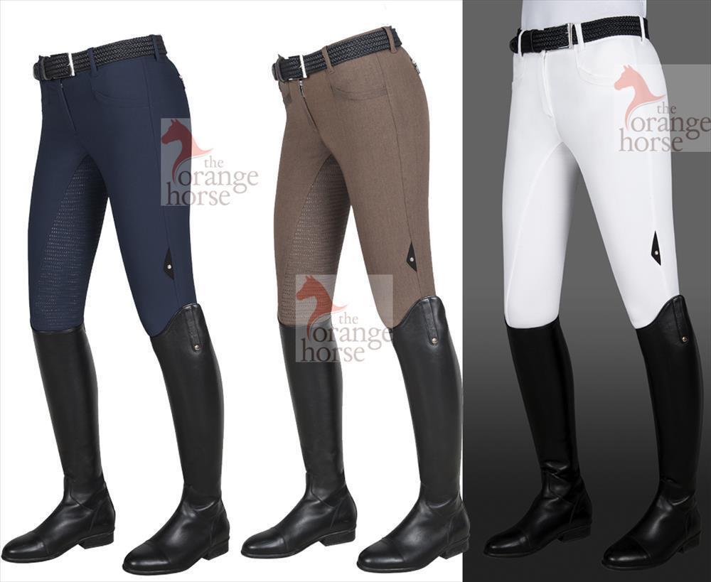 Equiline Pantalon D'Équitation pour Femme Cedar - avec Full Grip