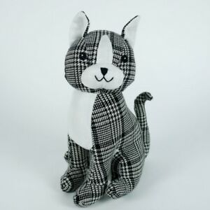 Sitting-Cat-Door-Stop-Stopper-1-5kg-Fabric-White-and-Grey