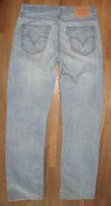 """Décontracté Levi `S 752 D' Homme Jeans / Bleu En Clair W33 """" / L32 """""""