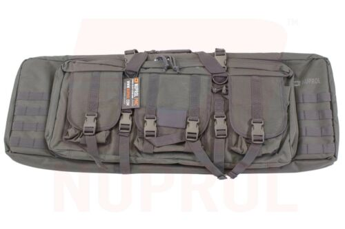 """Nuprol PMC Deluxe Soft Rifle Bag Case 36/"""" 42/"""" 46/"""" airsoft weapon field gun molle"""