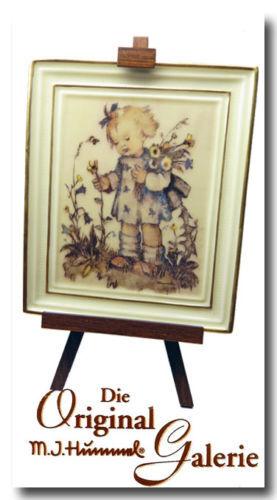 Goebel M 350001 offiziell lizenz Sammlung NEU Hummel Gallery J Blumenkind