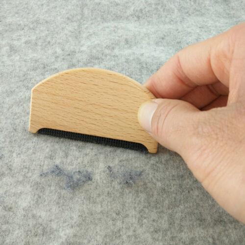 Holz Kleidung Pullover Fusselentferner Fussel Trimmer Rasierer Kamm GarmentCWCH